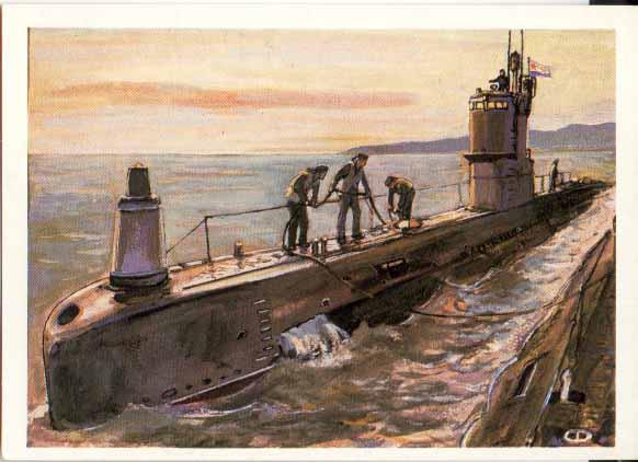 комсомолец подводная лодка на какой глубине